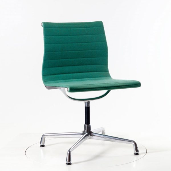 Vitra Aluminium Chair EA101 - Hopsak mint/forest
