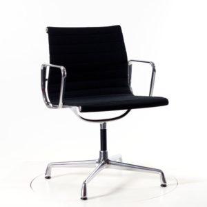 Vitra Aluminium Chair EA103 - Hopsak nero