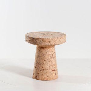 Vitra Cork Family - Cork Stool C sofort lieferbar ✓ aus Naturmaterial Kork ✓ als Hocker Beistelltisch einsetzbar