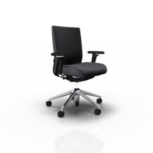 Vitra ID Soft Bürodrehstuhl mit FlowMotion Mechanik, Sitztiefenverstellung und Vorwärtsneigung, diverse Farben im feco Onlineshop