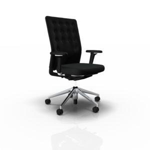 Vitra ID Trim Bürodrehstuhl, FlowMotion mit Vorwärtsneigung undSitztiefenverstellung