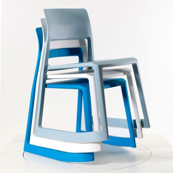 Vitra Tip Ton Stuhl stapelbar und Outdoor geeignet