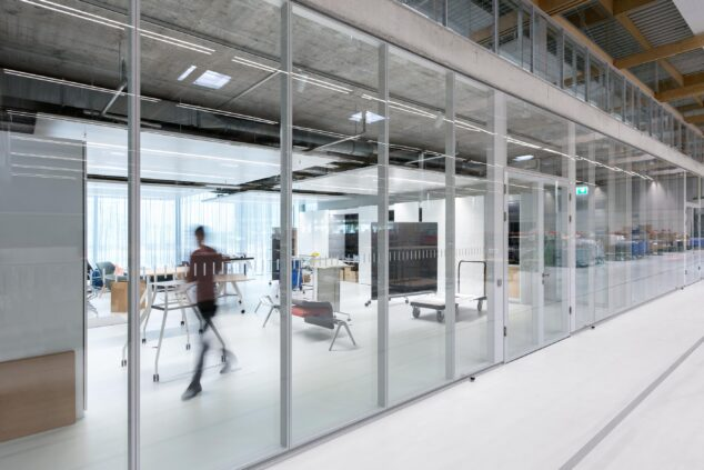 feco-feederle│partition walls│Brunner Innovation Factory Rheinau