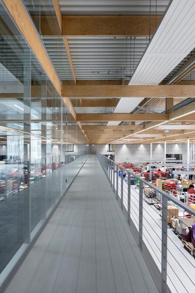 feco-feederle│Trennwandsysteme│Brunner Innovation Factory, Rheinau
