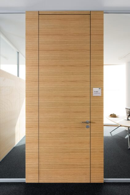 fecotür wood│feco partition walls│R+V Wiesbaden