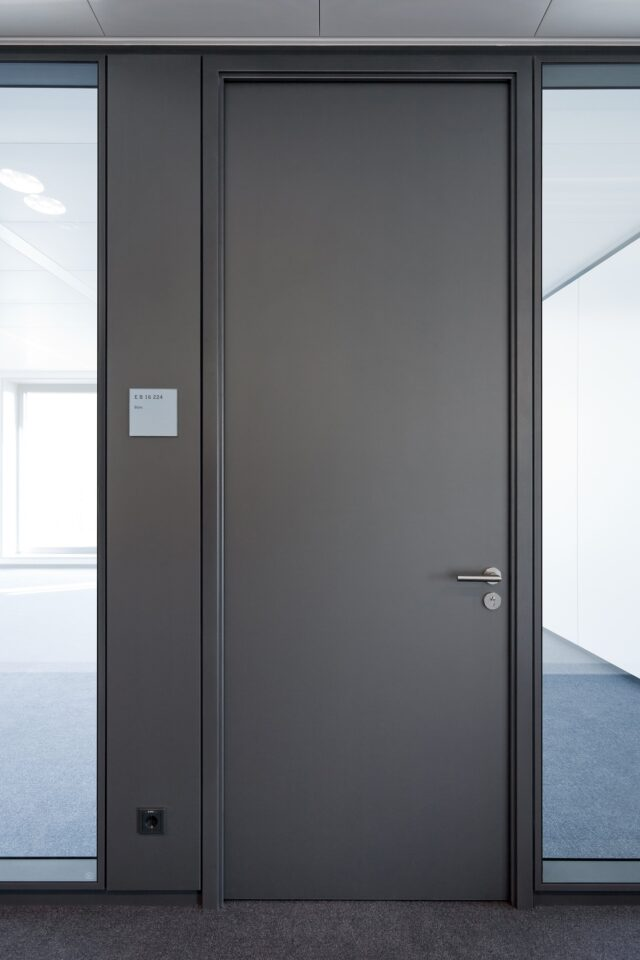 fecotür wood│feco partition walls│Deutsche Börse Eschborn