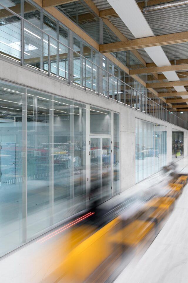 feco-feederle│partition walls│Brunner Innovation Factory Rheinau