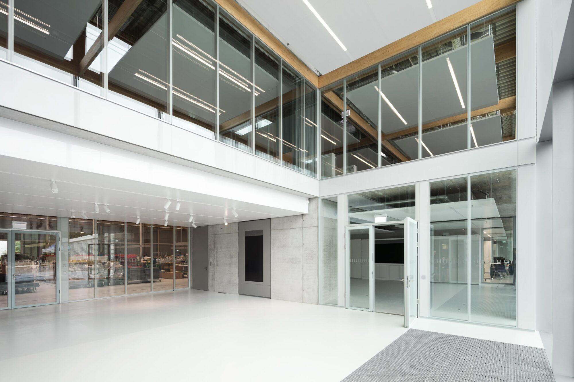 Absturzsichernde Verglasung fecostruct   Brunner Innovation Factory