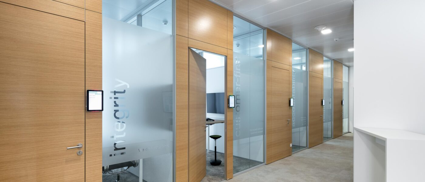 Sustainable with feco partition walls | Europe Plaza Stuttgart
