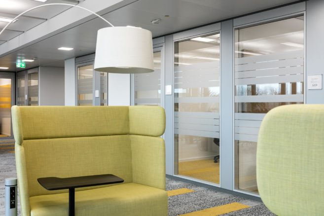feco partition wall systems | Microsoft Germany's headquarters