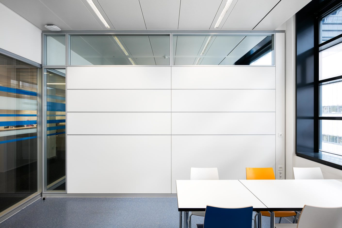 Sustainable laboratory with feco wall systems | BASF, Ludwigshafen