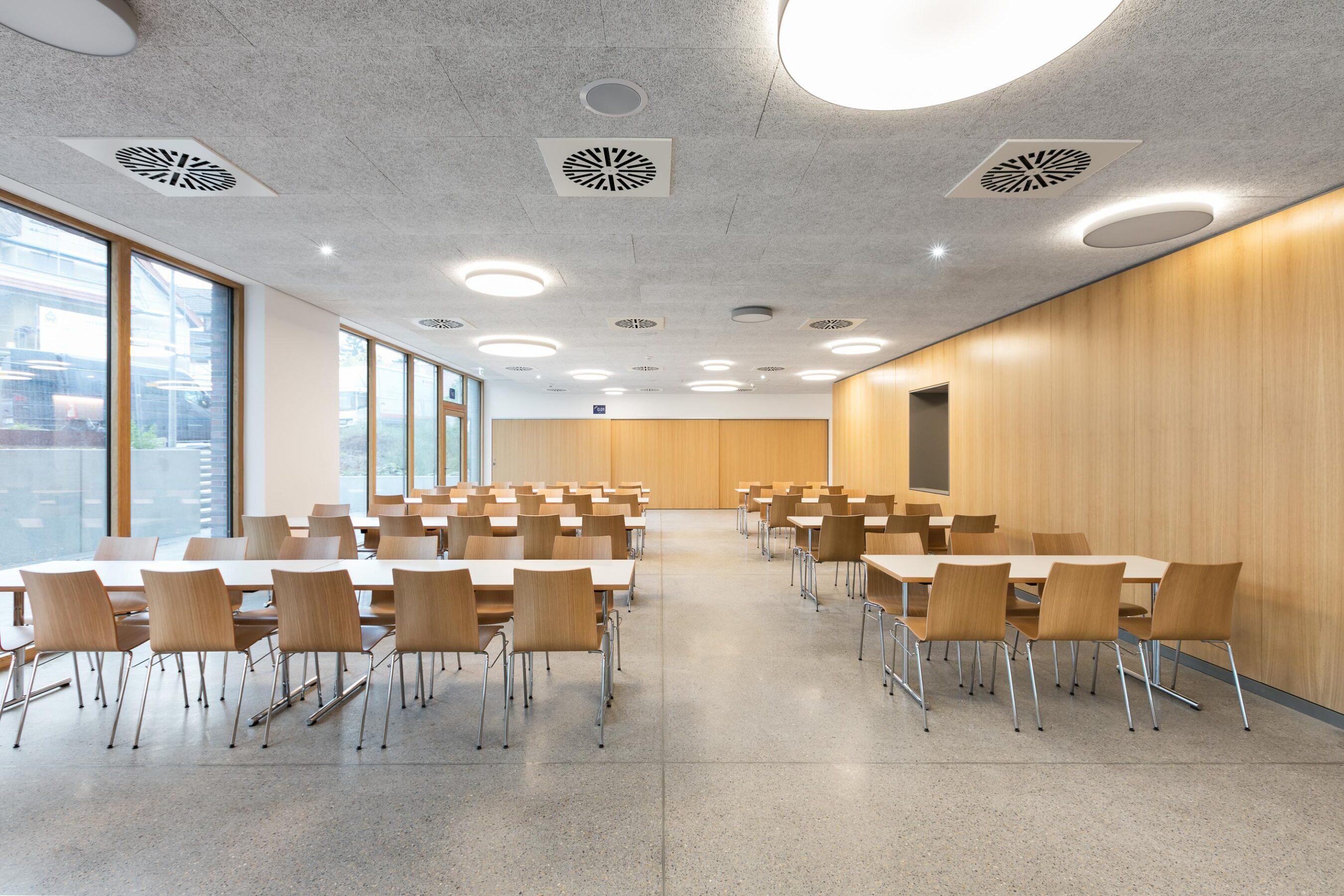 feco-feederle│partition walls│Burg Gymnasium Schorndorf