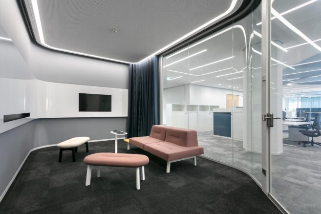 feco-feederle│partition walls│Head office of Stadtwerke Karlsruhe