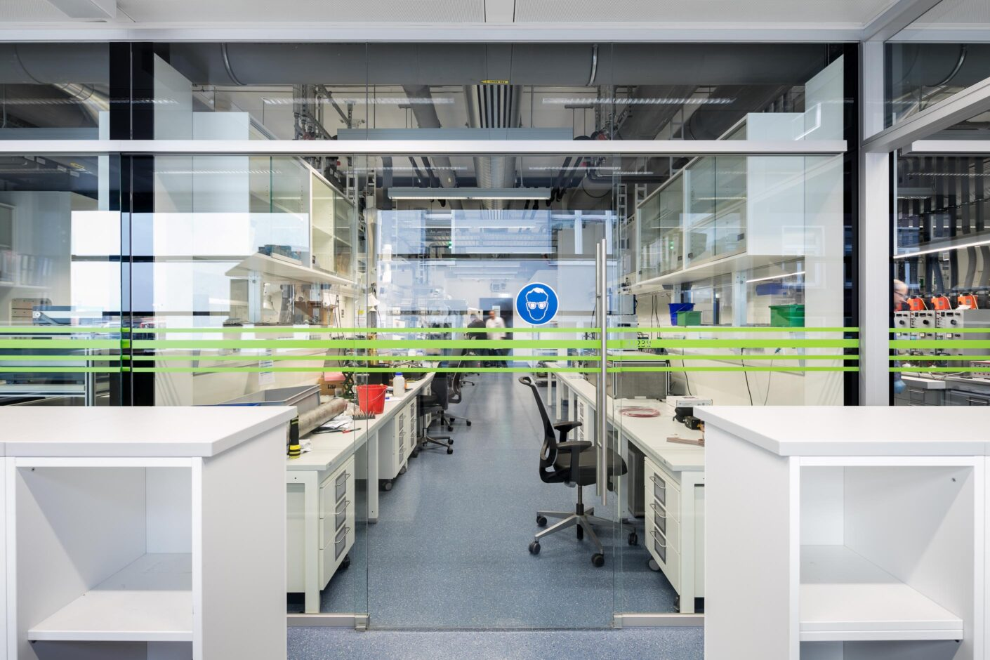 feco-feederle│partition wall systems│BASF Ludwigshafen