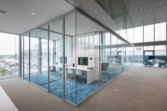 feco-feederle│Trennwandsysteme│Merck Innovation Center, Darmstadt