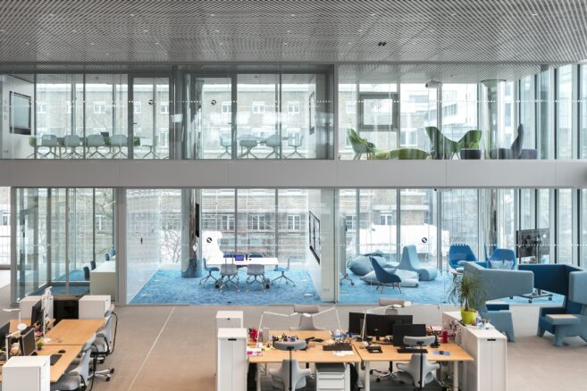 feco-feederle│partition walls│The Merck Innovation Center Darmstadt