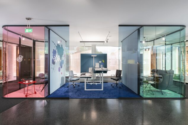 fecoplan│feco partition walls│feco-forum showroom
