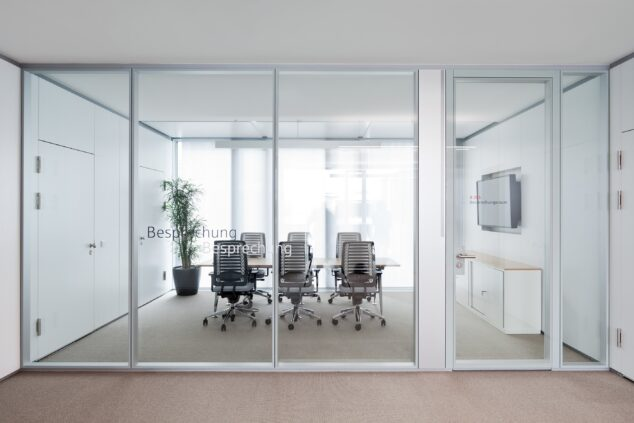 fecostruct│feco partition walls│Kreissparkasse Göppingen