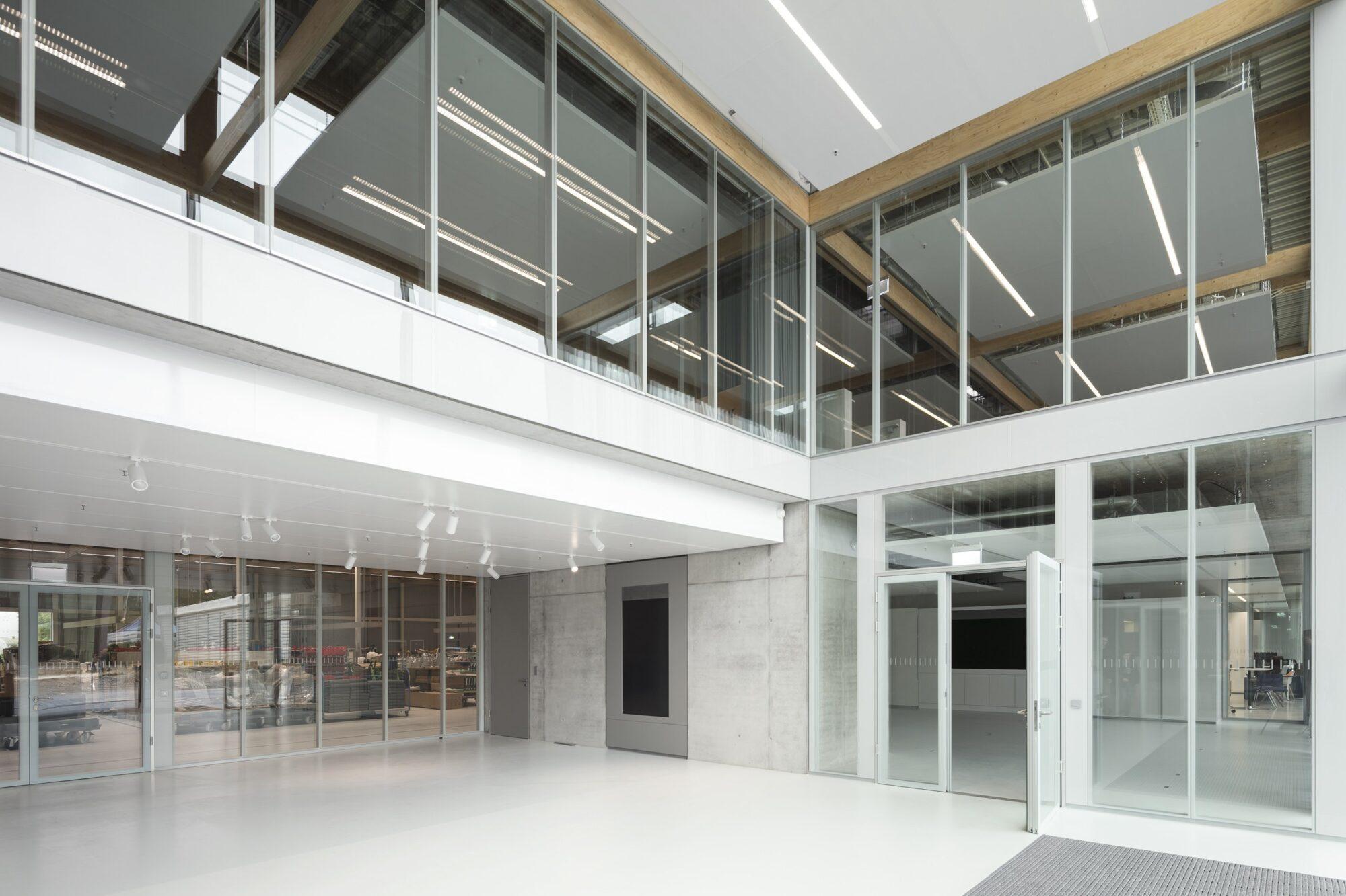 fecostruct│feco partition walls│Brunner Innovation Factory