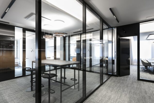 fecostruct│feco partition walls│General Atlantic Munich