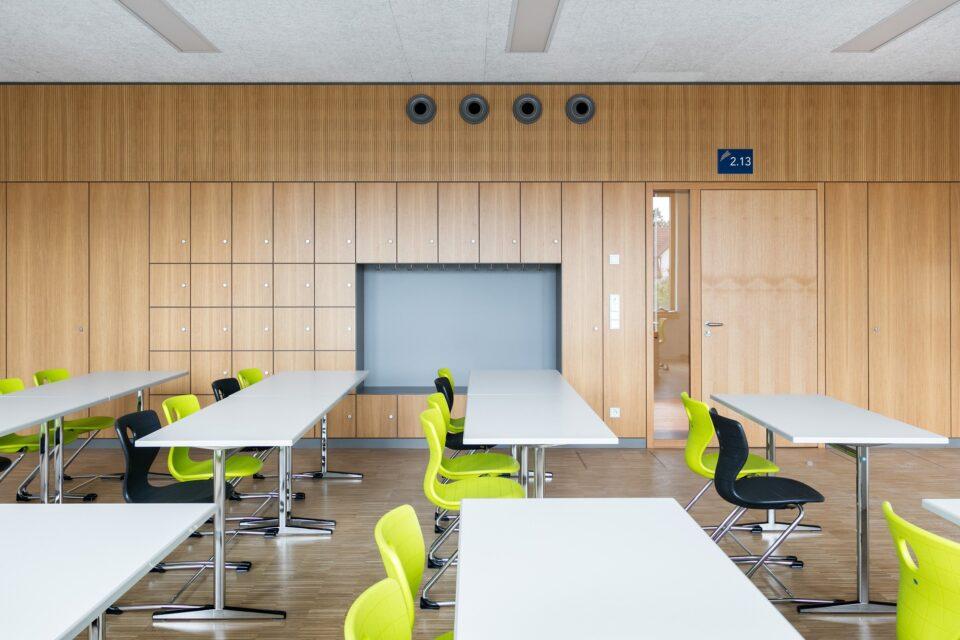 fecoorga│feco partition walls│Burg-Gymnasium Schorndorf