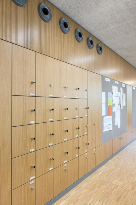 feco-feederle│partition walls│Burg Gymnasium Schorndorf