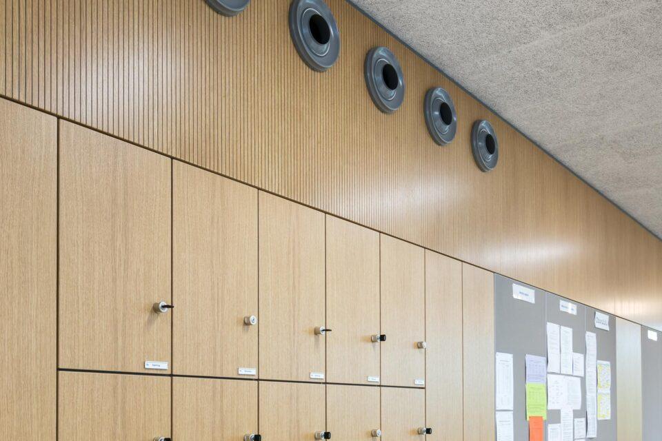 feco-feederle│Trennwandsysteme│Burg Gymnasium Schorndorf