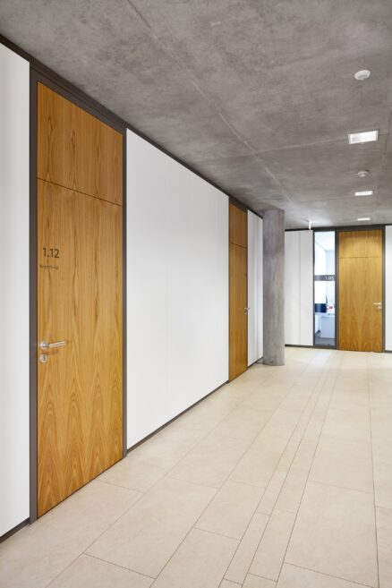fecowand│feco partition walls│city hall Leingarten