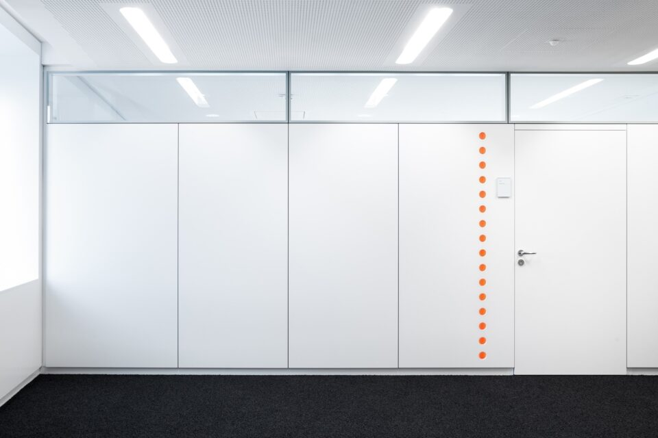 fecowand│feco partition walls│Sparkasse Ulm