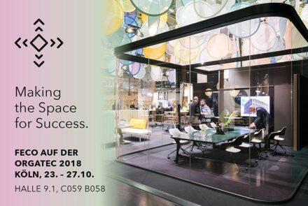 Orgatec Köln│feco-feederle zu Gast bei Ophelis Bild