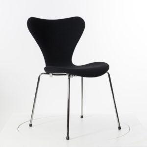 Fritz Hansen SERIE 7 Stuhl, stapelbar, vollgepolstert - die Ameise von Arne Jacobsen