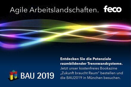 feco-feederle│Bau 2019 München Image