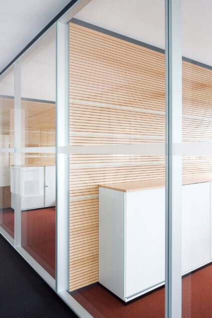 fecophon wood│ feco partition walls│feco-forum showroom