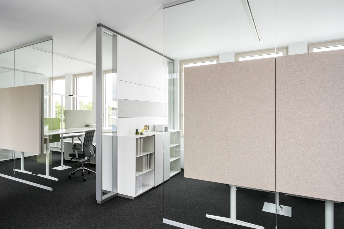fecophon fabric│feco partition walls│feco-forum showroom