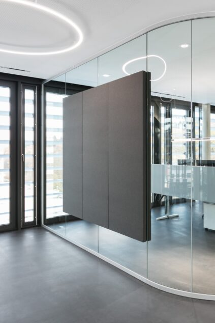 fecophon fabric│feco partition walls│La Biosthétique