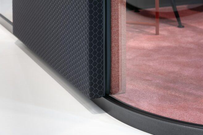 fecophon fabric│feco partition walls│BAU 2019