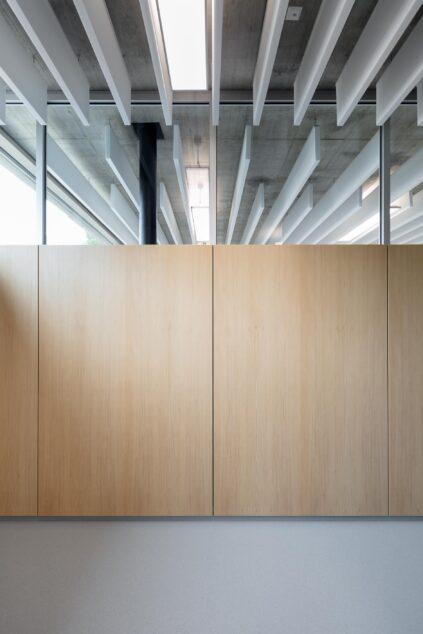 fecopur│feco partition walls│Schubart-Gymnasium Aalen
