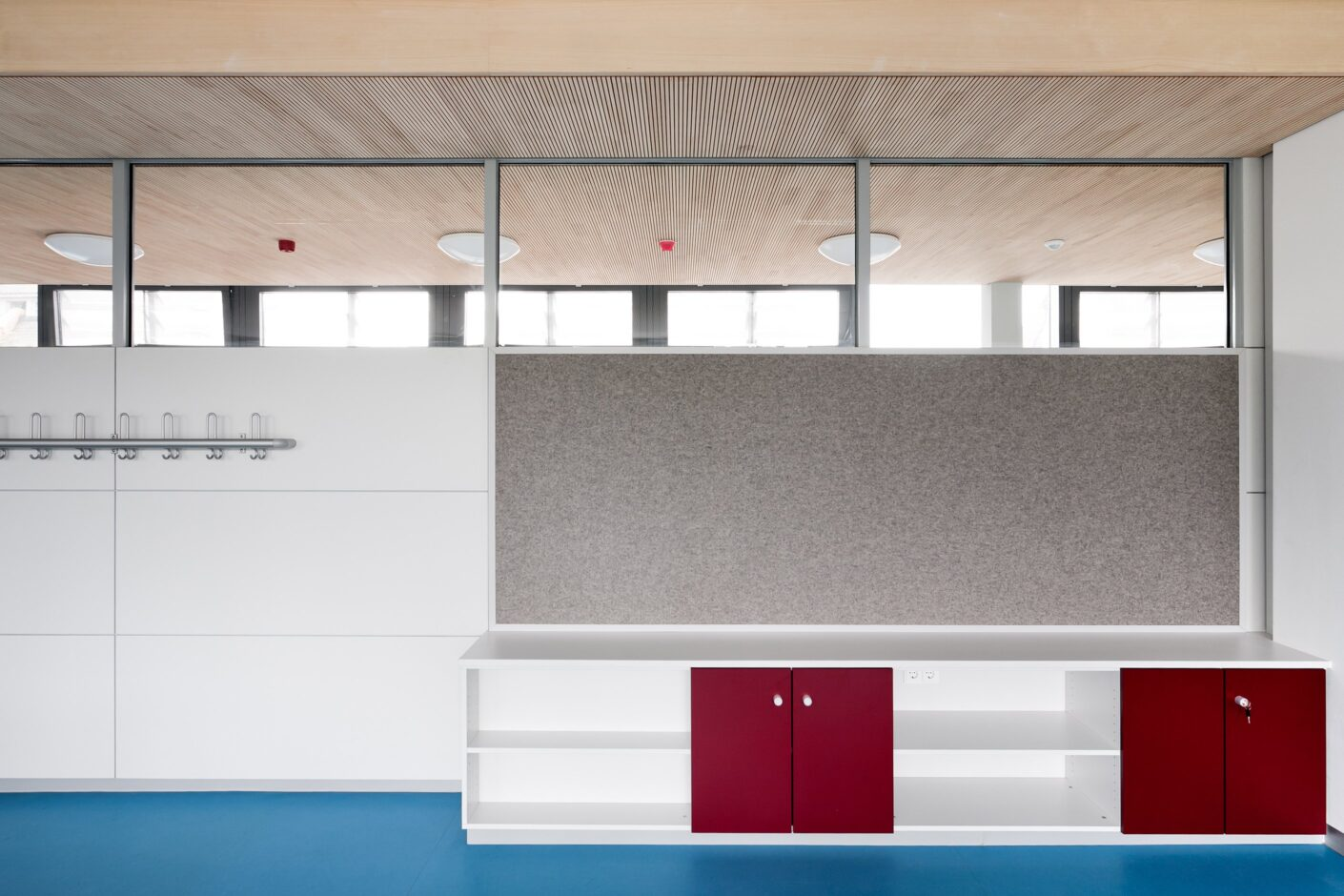 fecopur│feco partition walls│Markgrafenschool Emmendingen