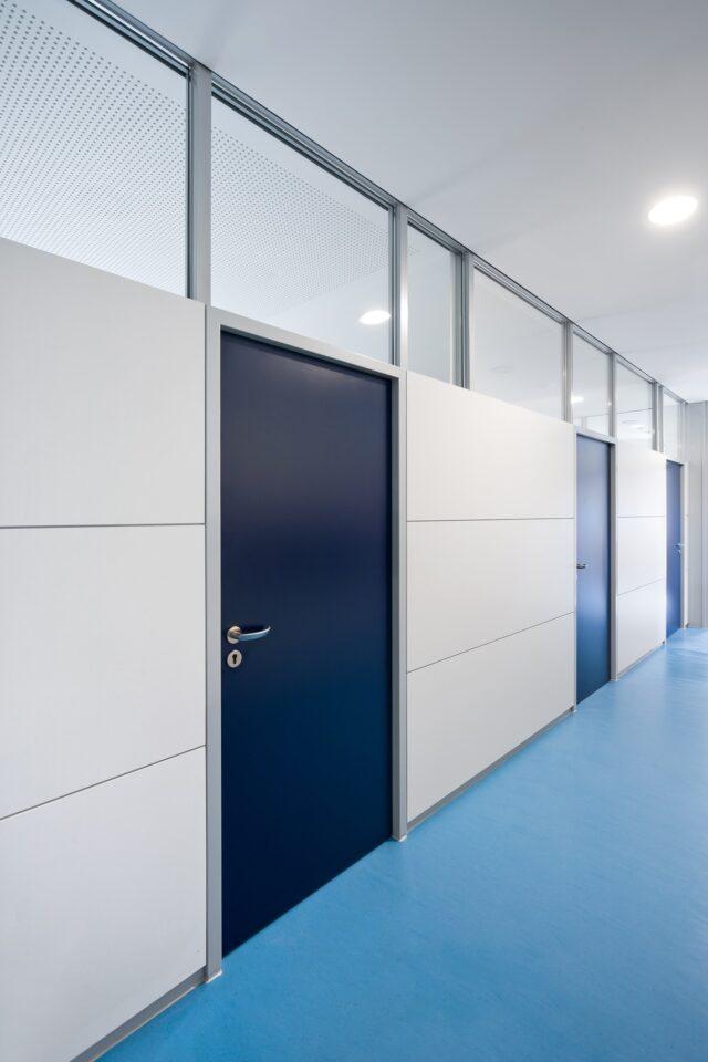 fecopur│feco partition walls│Markgrafenschool Emmendingen