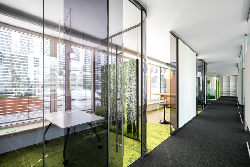 fecotuer glass│feco partition walls│feco-forum showroom