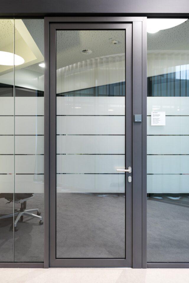 fecotuer glass│feco partition walls│Sparkasse Pforzheim Calw