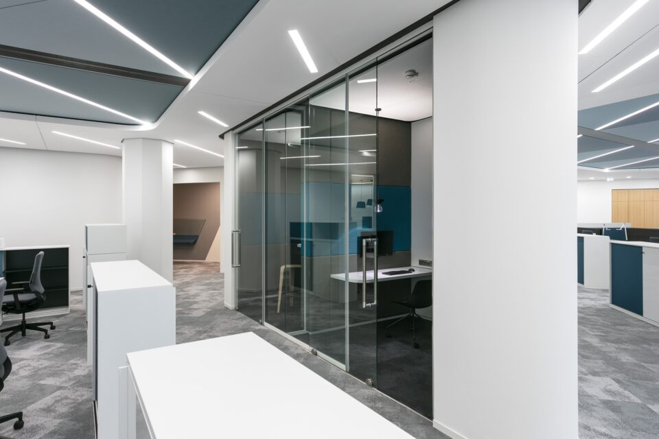 fecotuer glass│feco partition walls│Head office of Stadtwerke Karlsruhe