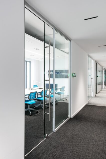 fecotuer glass│feco partition walls│Synlab Munich