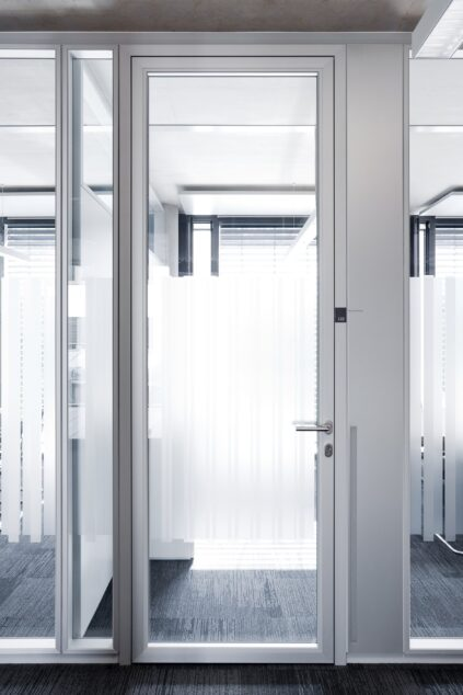 fecotuer glass│feco partition walls│Sparkasse Memmingen