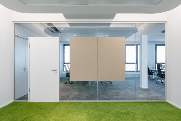 feco-feederle│partition walls│Stadttor Ost, Heidelberg