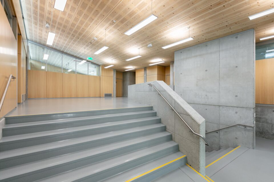 feco-feederle│partition walls│Schubart-Gymnasium Aalen