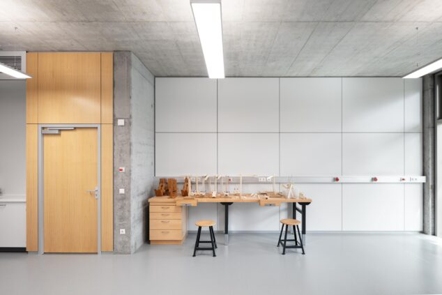 feco-feederle│partition walls│Schubart-Gymnasium Aalen