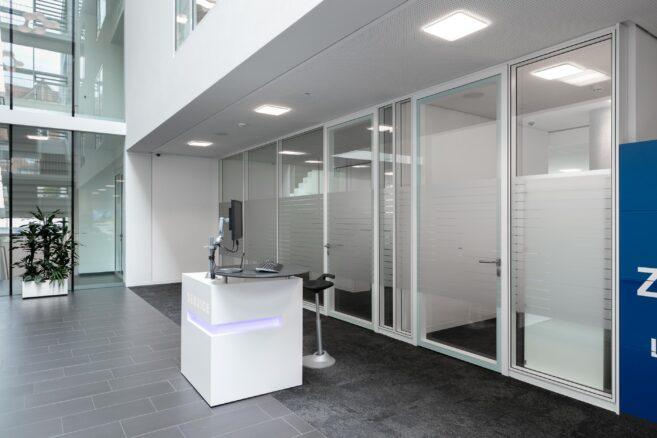 feco-feederle│partition walls│VR-Bank Ostalb, Aalen
