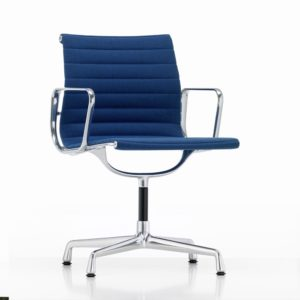 Vitra Aluminium Chair EA104│Hopsak│blau- moorbraun│Vitra in Karlsruhe