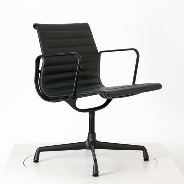 Vitra Alu Chair EA108│Premium Leder│jade│drehbar│Vitra in Karlsruhe